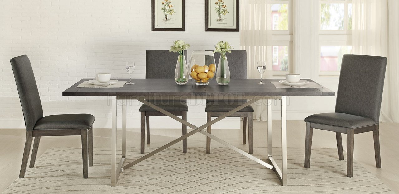 Fulton 5169 84 Dining Tablehomelegance W/Options In Newest 49'' Dining Tables (Photo 4 of 15)