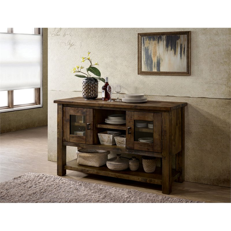 Furniture Of America Belton Wood Plank Style Tabletop Inside Most Up To Date Belton Dining Tables (View 14 of 15)