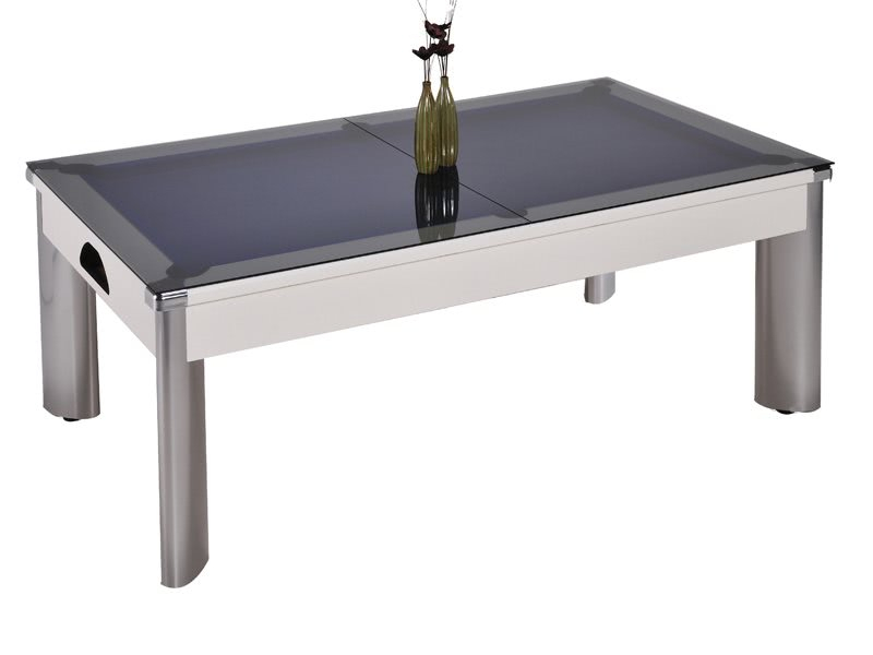 Fusion Outdoor Pool Dining Table – 7 Ft | Liberty Games Within Recent 3 Games Convertible 80 Inches Multi Game Tables (View 3 of 15)