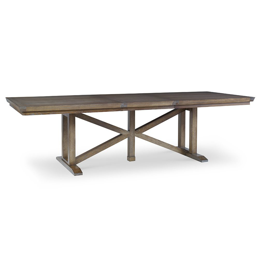 Gallery Trestle Dining Table Pertaining To 2017 Haddington 42'' Trestle Dining Tables (View 14 of 15)
