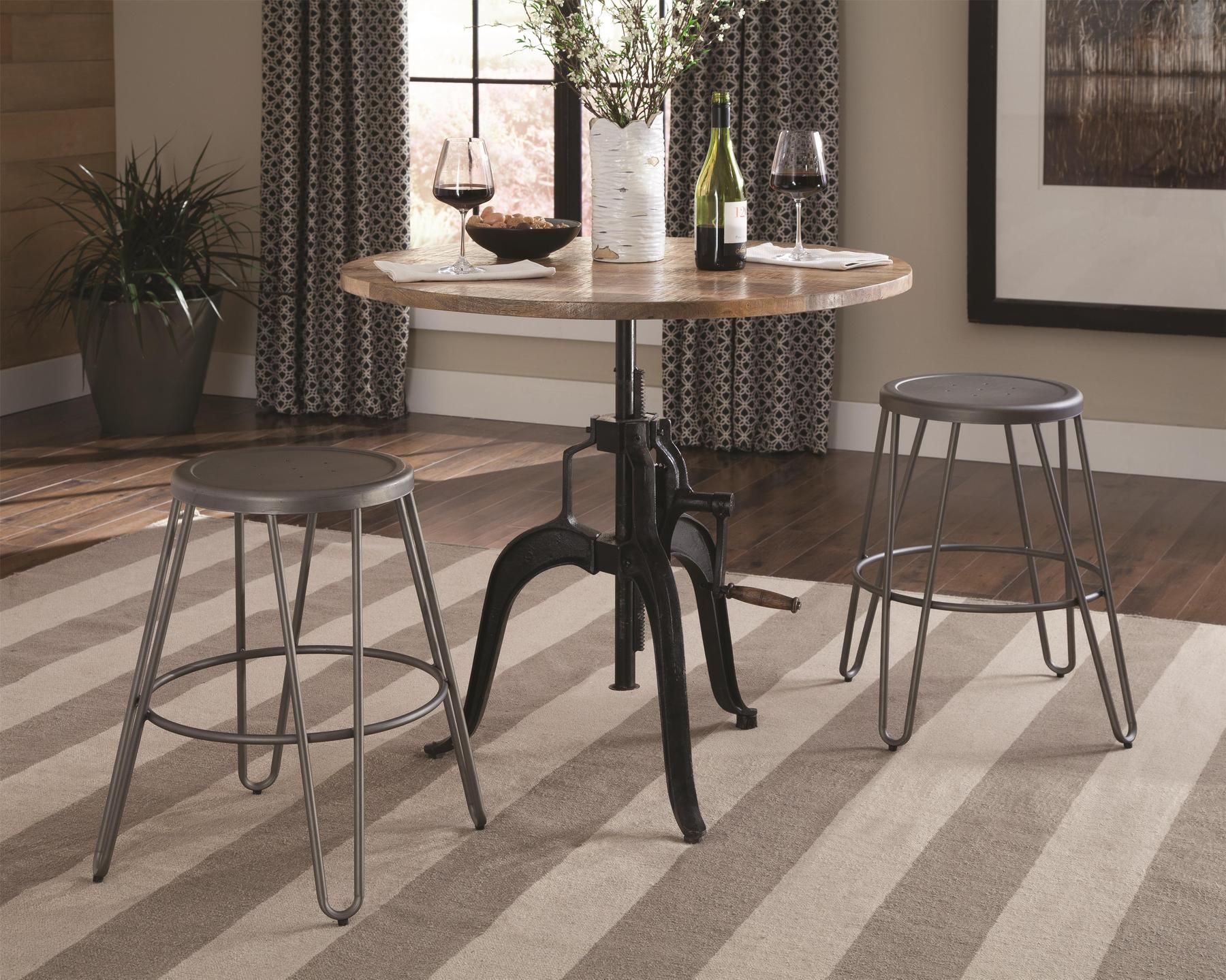 Galway Bar Table | Coaster Fine Furniture, Coaster With Regard To Best And Newest Baring 35'' Dining Tables (View 2 of 15)