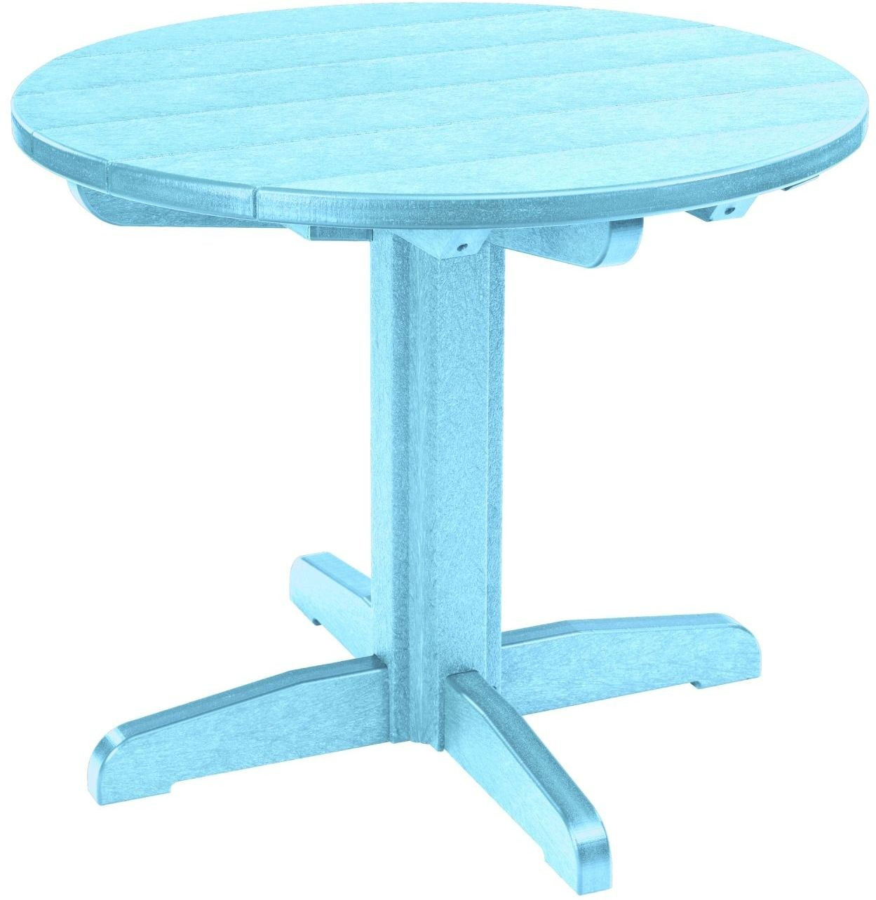 """Generations Aqua 32"""" Round Pedestal Dining Table From Cr With Most Current Hemmer 32'' Pedestal Dining Tables (View 5 of 15)"""