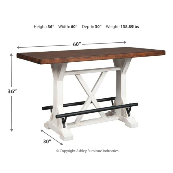 Gracie Oaks Jayapura Counter Height Dining Table & Reviews Regarding Newest Jayapura Counter Height Dining Tables (View 6 of 8)