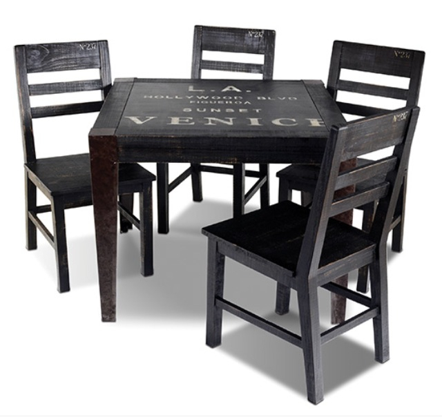 """Graffiti 38"""" Dining Table 