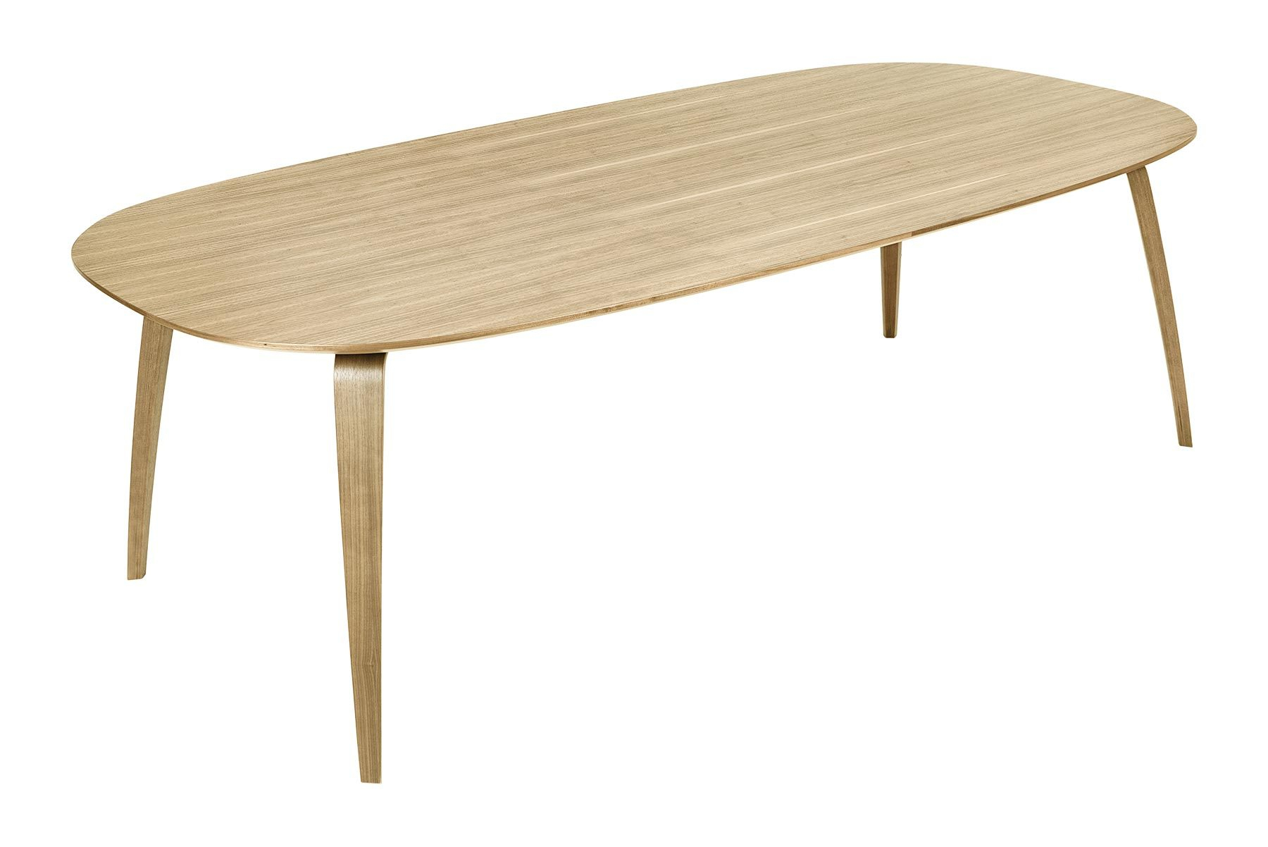 Gubi Dining Table – Elliptical – Mid Century Mobler For Most Current Gunesh  (View 8 of 15)