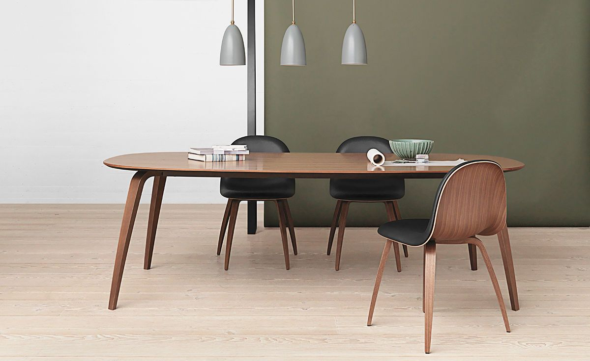 Gubi Elliptical Dining Table | Dining Table, Table, Dining With Regard To Best And Newest Getz 37'' Dining Tables (View 7 of 15)
