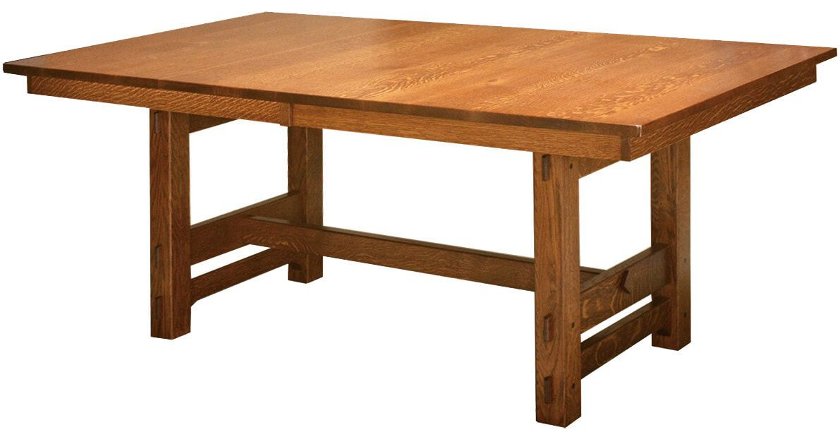 Gustav Butterfly Leaf Dining Table – Countryside Amish Inside Most Recently Released Warnock Butterfly Leaf Trestle Dining Tables (View 3 of 15)