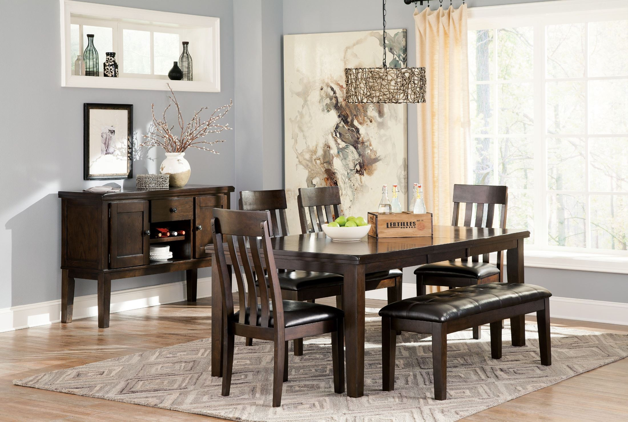 Haddigan Dark Brown Rectangular Extendable Dining Table Intended For Most Recently Released Benji 35'' Dining Tables (View 12 of 15)