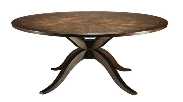 Hand Crafted Dining Tablejustin Oliver Inc. Vision Pertaining To Current Justine (View 15 of 15)