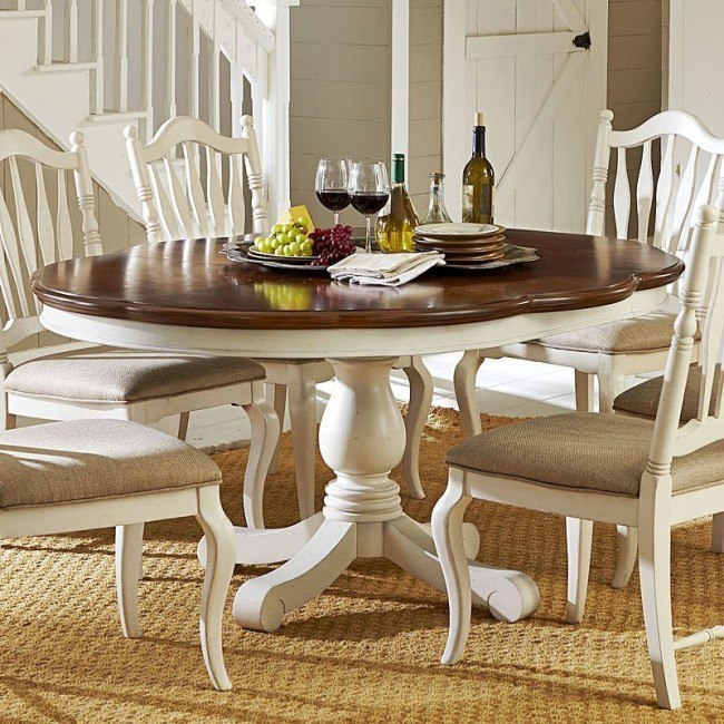 Haven High/Low Dining Table (Buttercream White) Legacy Pertaining To Most Up To Date Classic Dining Tables (View 5 of 15)