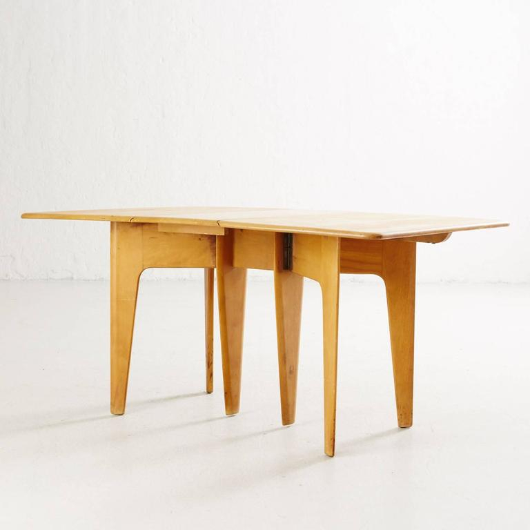 Heywood Wakefield Drop Leaf Dining Table For Sale At 1Stdibs For Best And Newest Cammack (View 13 of 15)