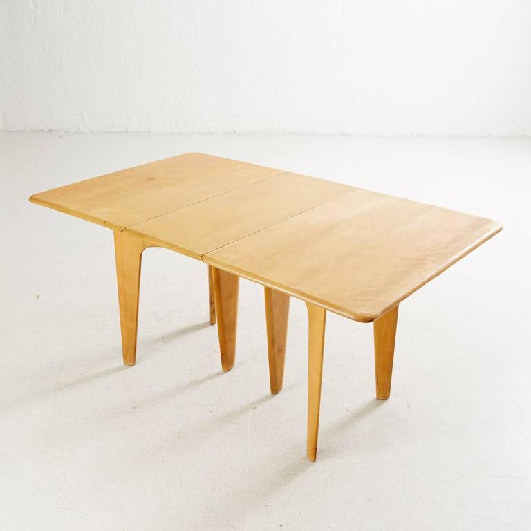 Heywood Wakefield Drop Leaf Dining Table For Sale At 1Stdibs With Best And Newest Cammack (View 15 of 15)