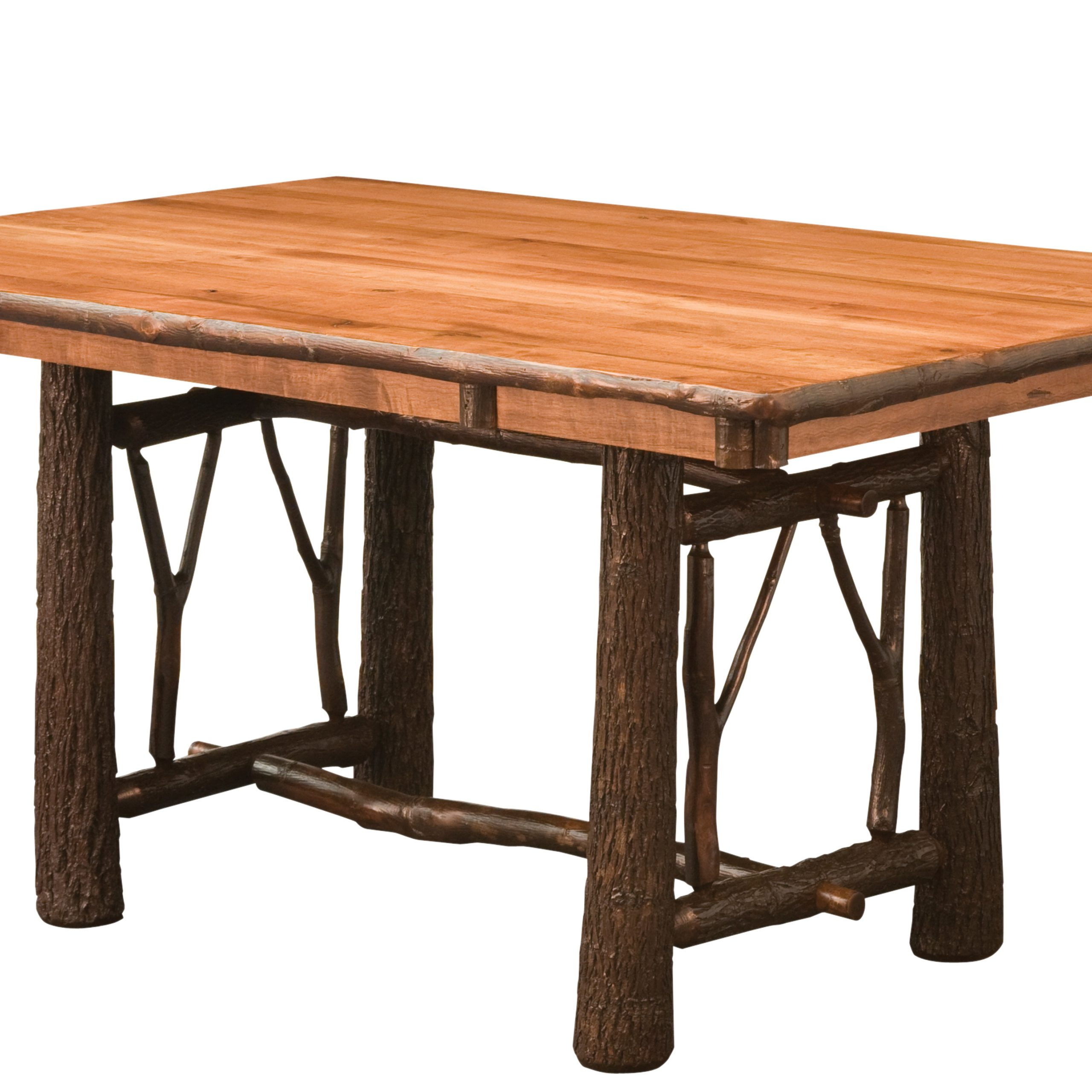 Hickory Twig Trestle Dining Table, Available In 5, 6, Or 7 Within Most Recent Trestle Dining Tables (View 8 of 15)