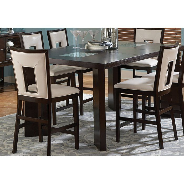 Hillcrest Counter Height Extendable Dining Table | Dining Intended For Most Recent Counter Height Extendable Dining Tables (View 3 of 15)