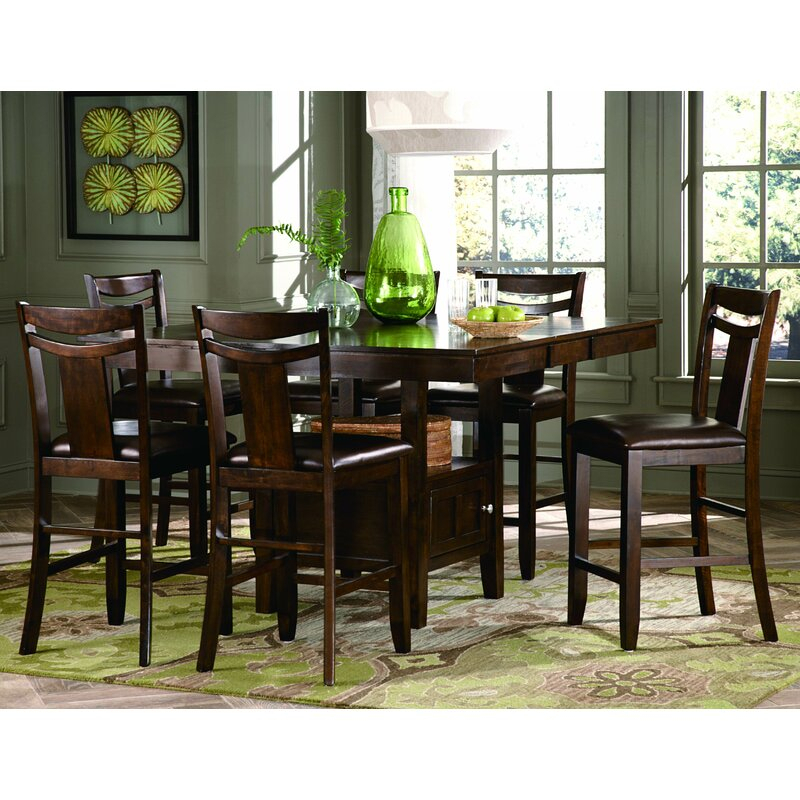 Homelegance Broome Counter Height Dining Table & Reviews In Most Current Overstreet Bar Height Dining Tables (View 3 of 15)