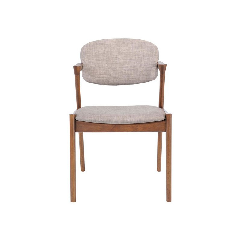 Homeroots Furniture Dining Chair In Dove Gray (Set Of 2 Intended For Most Recent Yaritza (View 14 of 15)