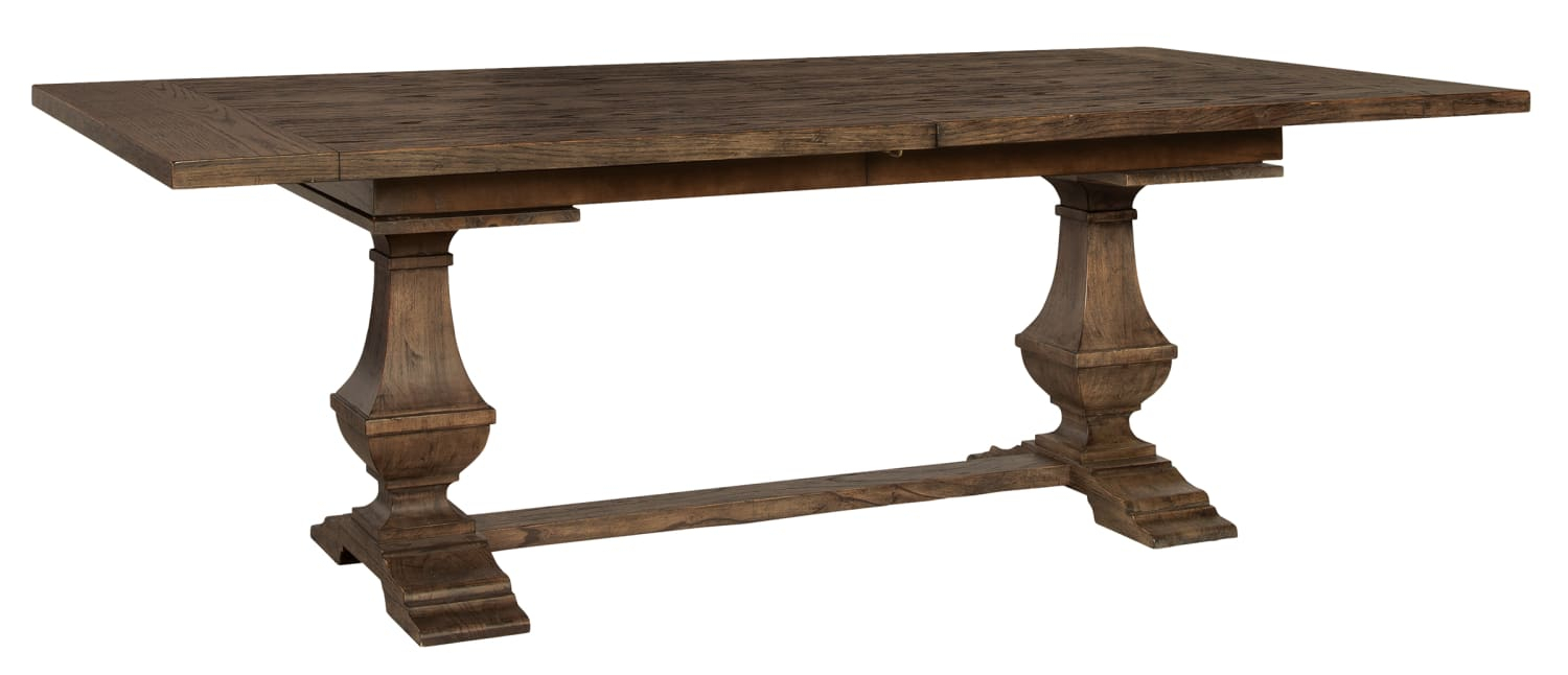 Image Is For Illustrative Purposes Only. Inside Current Leonila 48'' Trestle Dining Tables (Photo 1 of 15)