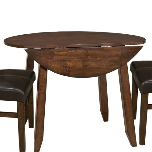 """Imagio Home Kona 42"""" Drop Leaf Dining Table & Reviews Inside Most Recently Released Adams Drop Leaf Trestle Dining Tables (View 12 of 15)"""