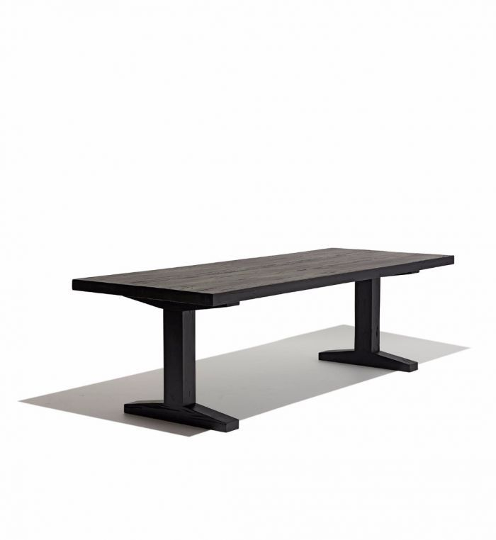 Industry West Trestle Dining Table | Trestle Dining Tables Pertaining To Most Current Alexxes 38'' Trestle Dining Tables (View 14 of 15)