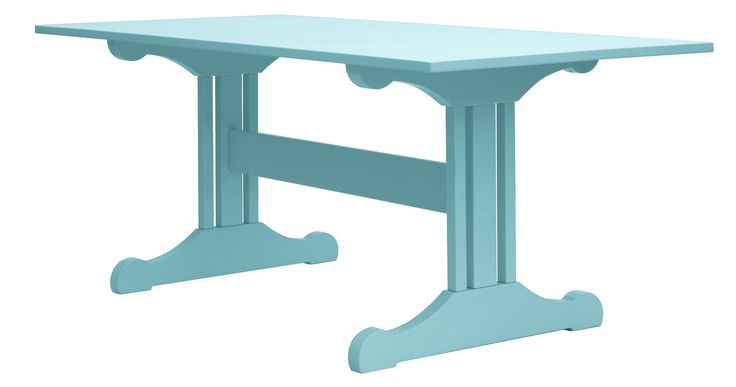 Inga Trestle Dining Table | Trestle Dining Tables, Dining Pertaining To Most Recent Alexxia 38'' Trestle Dining Tables (View 10 of 15)