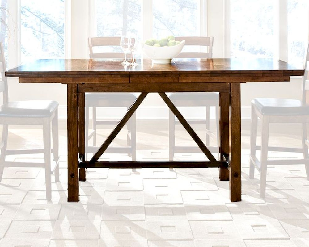 Intercon Counter Height Dining Table Santa Clara Inst3884Gtab Regarding Most Recently Released Abby Bar Height Dining Tables (Photo 14 of 15)