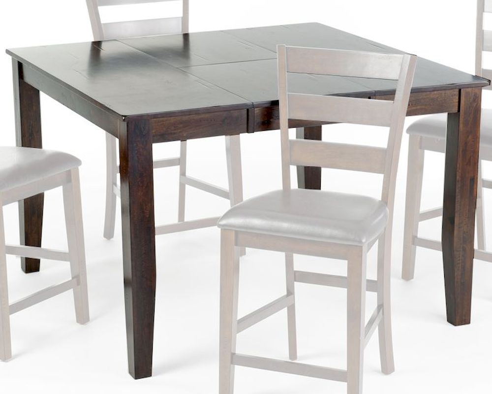 Intercon Kona Mango Wood Counter Height Table Inka5454Gtab With Best And Newest Mccrimmon 36'' Mango Solid Wood Dining Tables (View 5 of 15)
