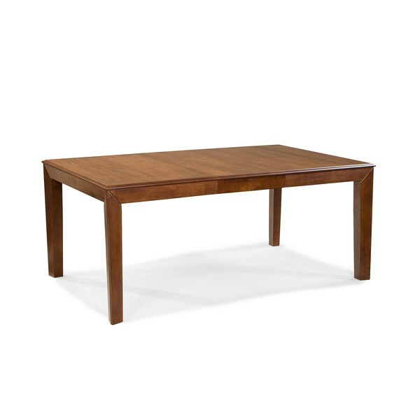Intercon Scottsdale Solid Rubberwood Dining Table Pertaining To Recent Babbie Butterfly Leaf Pine Solid Wood Trestle Dining Tables (View 15 of 15)