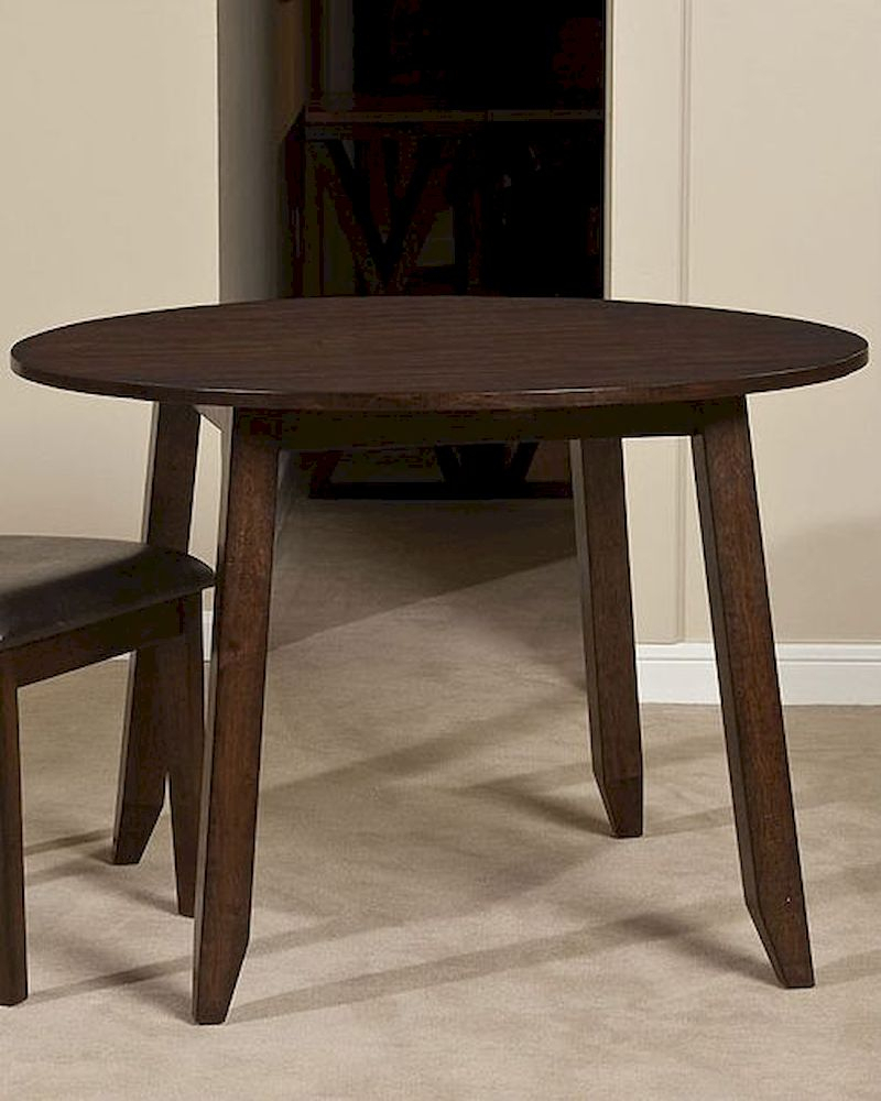 Intercon Solid Mango Wood Drop Leaf Dining Table Kona Within Most Popular Alfie Mango Solid Wood Dining Tables (View 13 of 15)