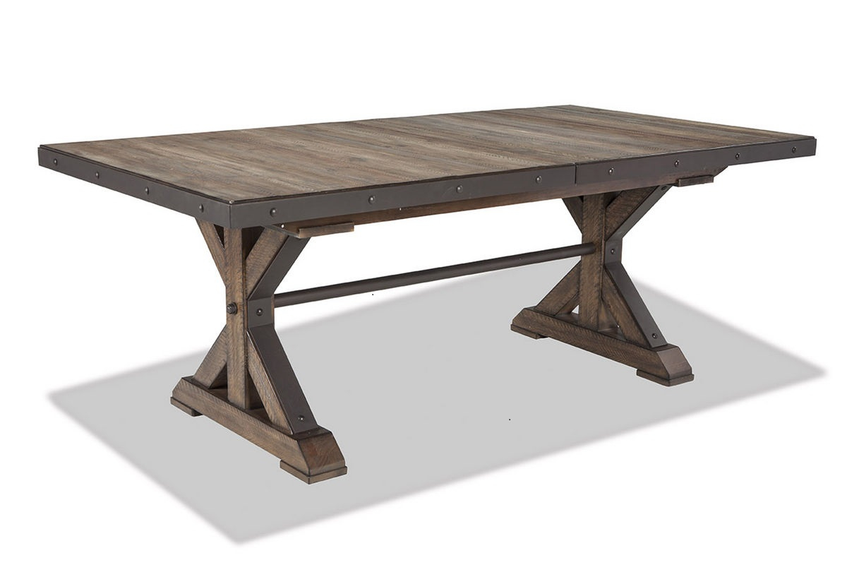 Intercon Taos Trestle Table Inside Newest Kara Trestle Dining Tables (View 10 of 15)