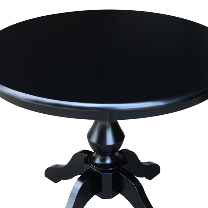"""International Concepts 36"""" Round Pedestal Counter Height Throughout Most Up To Date Bar Height Pedestal Dining Tables (View 10 of 15)"""
