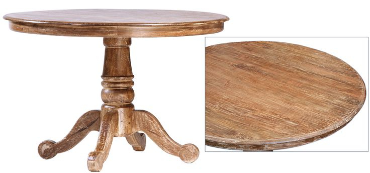 Jal7001Luc Francisco Pedestal Dining Table Lucca Finish Throughout Most Up To Date Wilkesville 47'' Pedestal Dining Tables (View 6 of 15)