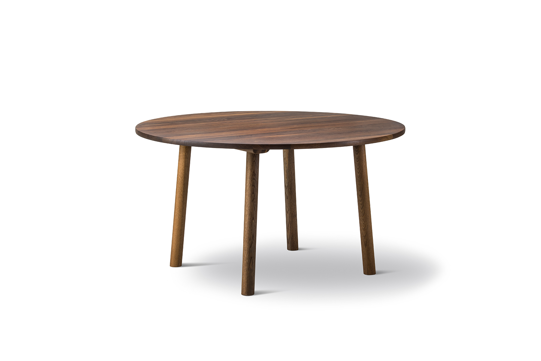 Jasper Morrison Taro Dining Table – Round – Mid Century Mobler With Most Current Gunesh  (View 6 of 15)