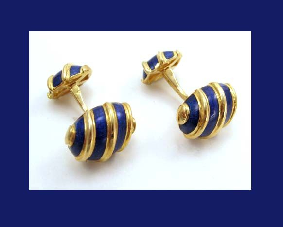 Jean Schlumberger For Tiffany – Olive Cufflinks In Yellow Intended For Latest Edmonds (View 3 of 3)