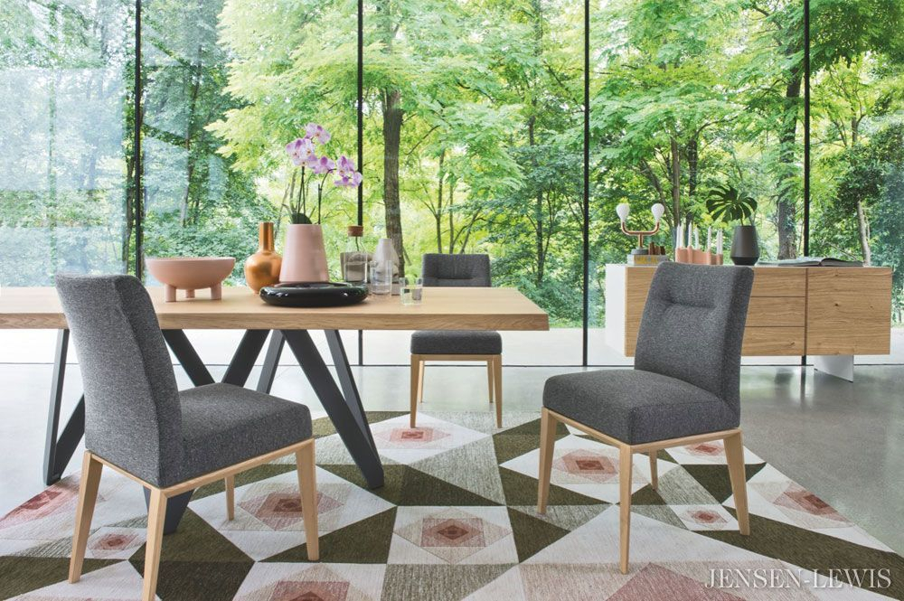 Jensen Lewis New York Modern And Contemporary Furniture Inside Most Up To Date Mcloughlin Dining Tables (View 10 of 15)