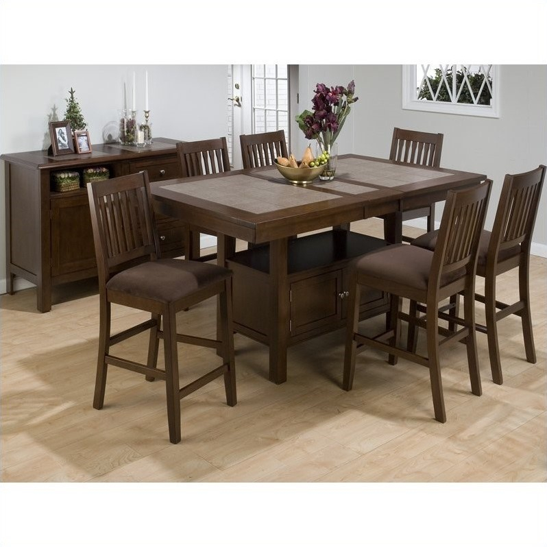 Jofran 976 Series Rectangular Counter Height Dining Table Inside Most Popular Overstreet Bar Height Dining Tables (View 10 of 15)