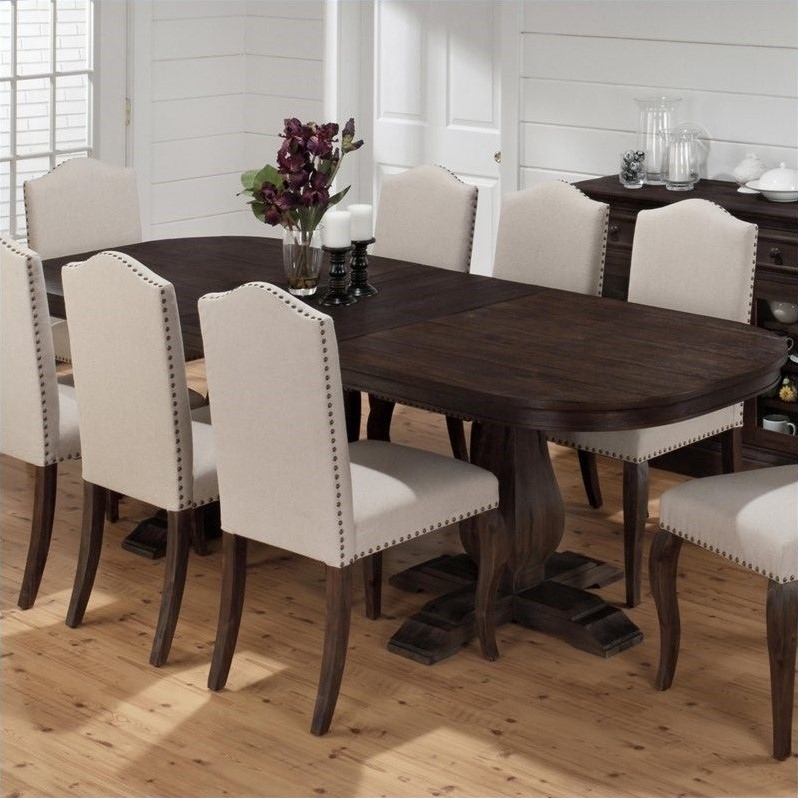 Jofran Butterfly Leaf Dining Table In Grand Terrace – 634 Intended For Best And Newest Warnock Butterfly Leaf Trestle Dining Tables (View 8 of 15)
