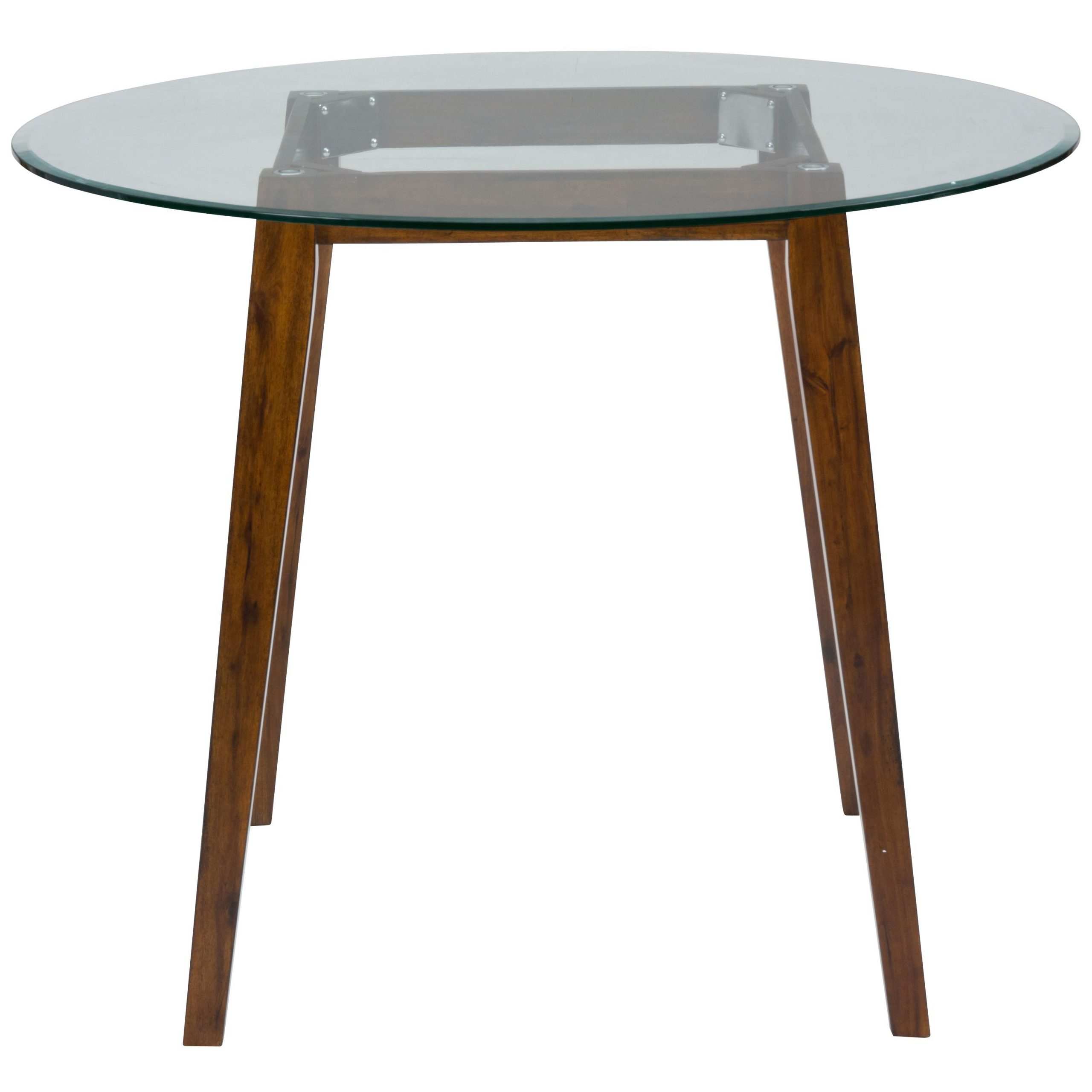 """Jofran Plantation 48"""" Round Counter Height Table With Regarding Most Up To Date Bushrah Counter Height Pedestal Dining Tables (View 7 of 15)"""