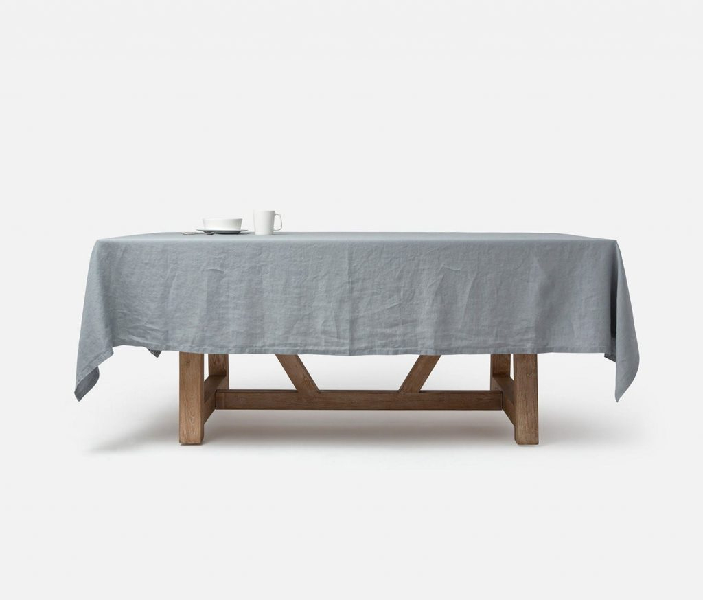 """Johanna Gray 112""""L X 70""""W Rectangular Tablecloth – Harbour Regarding Most Recently Released Murphey Rectangle 112"""" L X 40"""" W Tables (View 13 of 15)"""