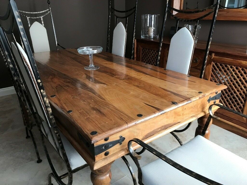 John Lewis Maharani Dining Table | In Milton Keynes Regarding Most Up To Date Milton Drop Leaf Dining Tables (View 11 of 15)