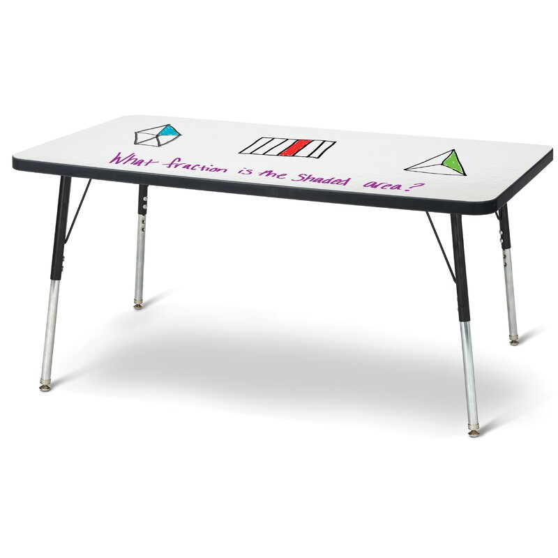 """Jonti Craft Berries® Dry Erase Whiteboard Rectangular With Regard To Most Current Elite Rectangle 48"""" L X 24"""" W Tables (View 2 of 15)"""