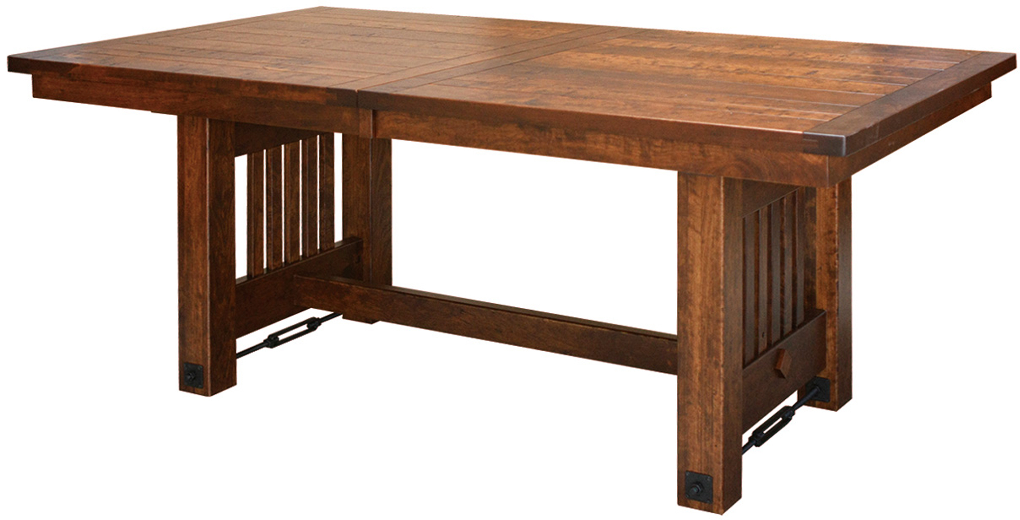 Jordan Farmhouse Trestle Table | Amish Trestle Table With Most Current Kara Trestle Dining Tables (View 8 of 15)