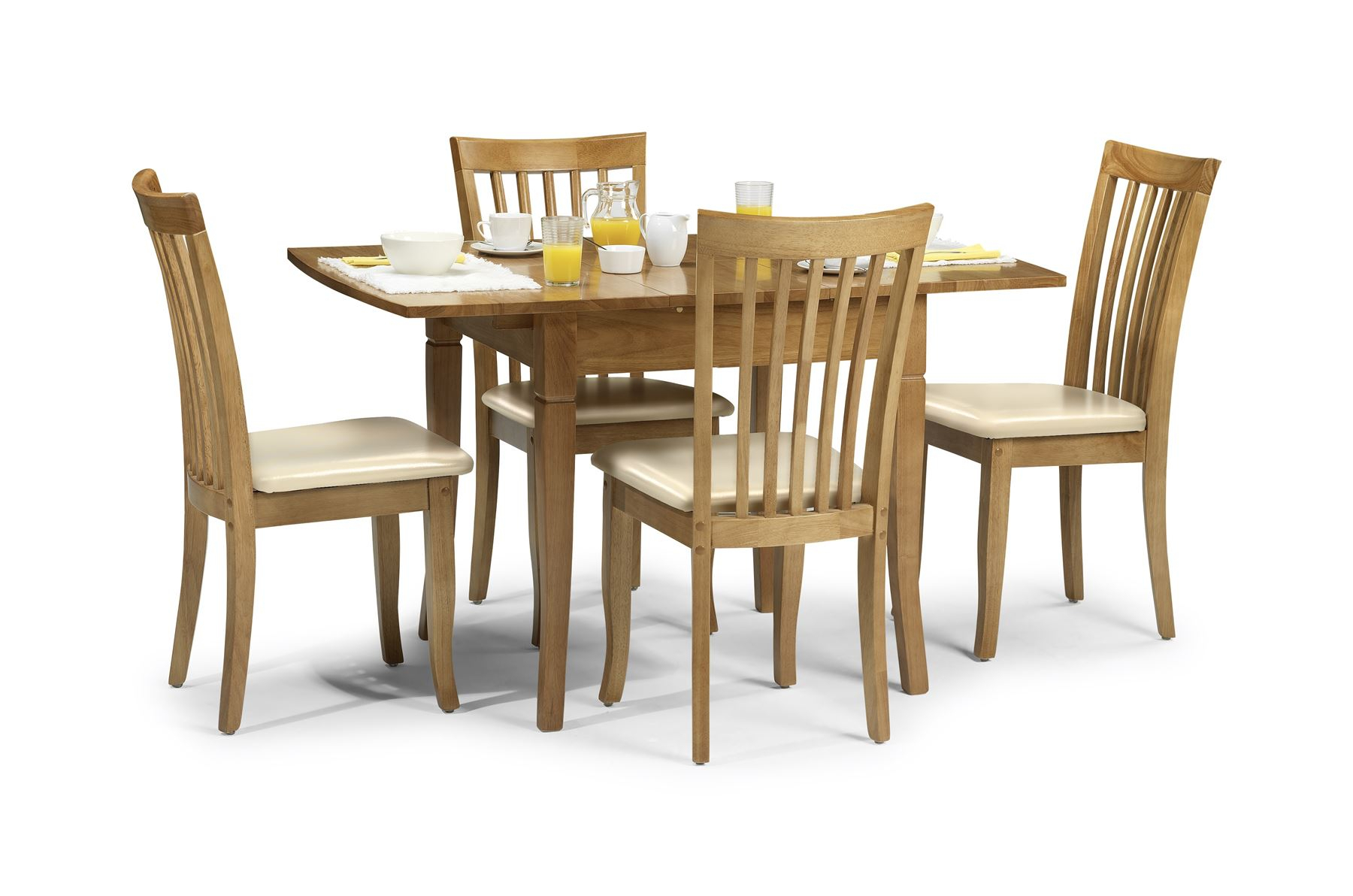 Julian Bowen Newbury Extending Dining Butterfly Table Within Most Recent Keown 43'' Solid Wood Dining Tables (View 15 of 15)