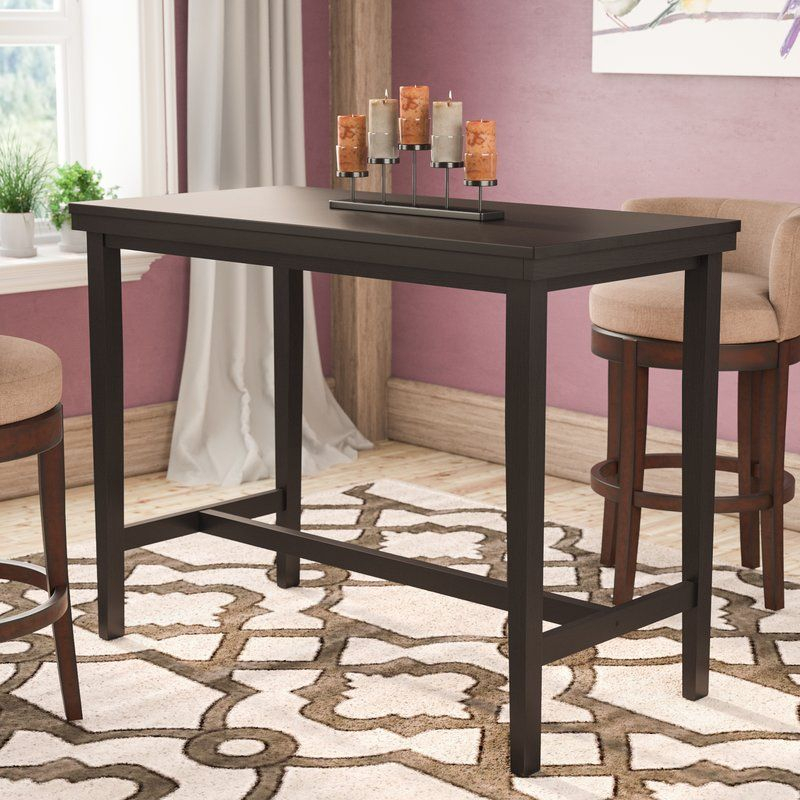 Justine Counter Height Dining Table | Bar Height Dining With Regard To Most Recent Andrelle Bar Height Pedestal Dining Tables (View 7 of 15)