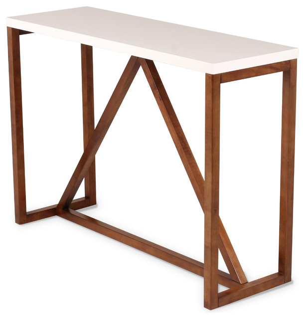 Kaya Wood Console Table – Contemporary – Console Tables In Most Recently Released Sanibel (View 4 of 15)