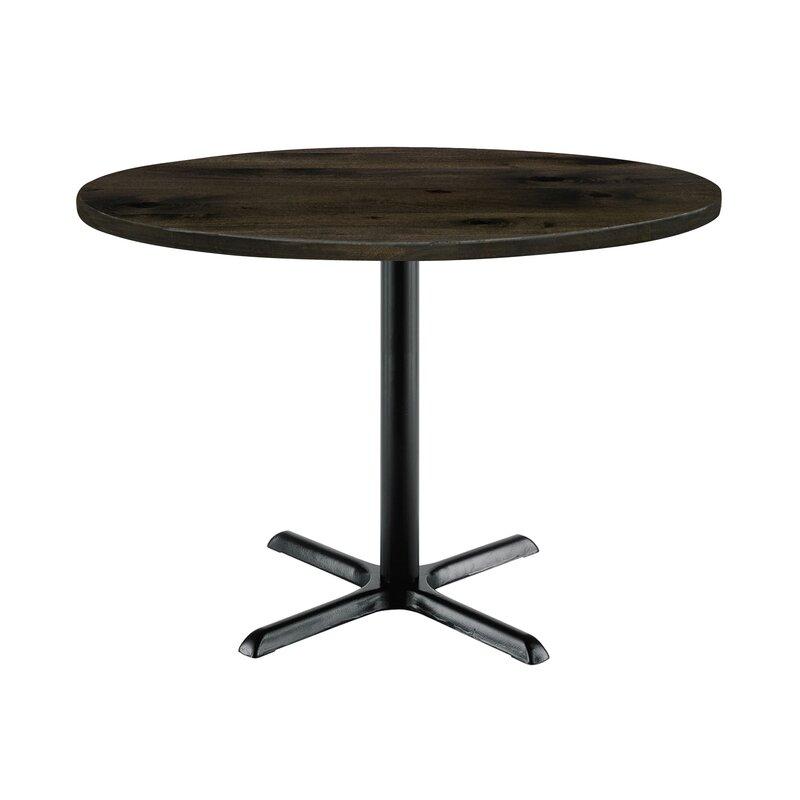 Kfi Studios Mode Round Pedestal Table | Wayfair Regarding Current Mode Round Breakroom Tables (View 10 of 15)