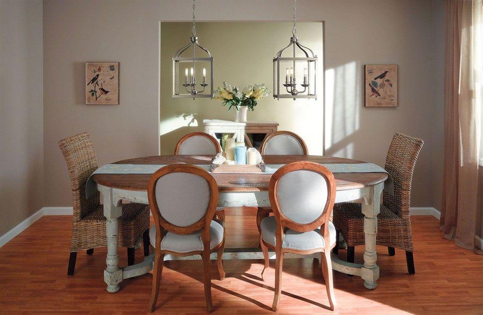 Kichler Larkin 42566Ni Diningroom | Kichler Lighting In Latest Larkin  (View 15 of 15)