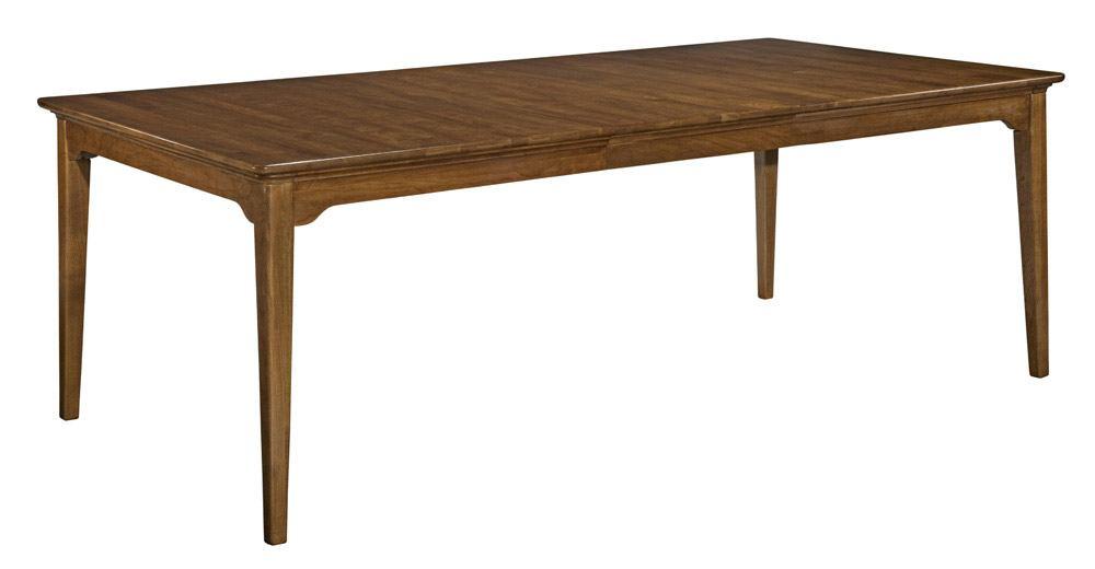 Kincaid Cherry Park Solid Wood Rectangular Leg Table 63 Regarding 2017 Bekasi 63'' Dining Tables (View 11 of 15)