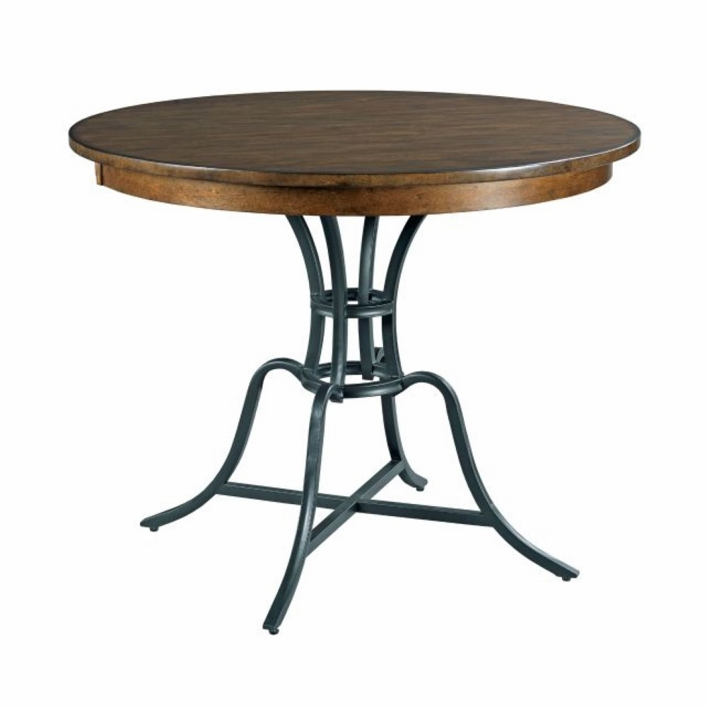 """Kincaid Furniture – The Nook – Hewned Maple 54"""" Round With Most Up To Date Gaspard Maple Solid Wood Pedestal Dining Tables (View 2 of 15)"""