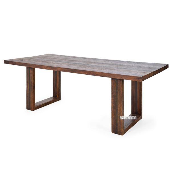 Kumasi 180/220 Dining Table *Mango Wood Inside Newest Carelton 36'' Mango Solid Wood Trestle Dining Tables (View 3 of 15)