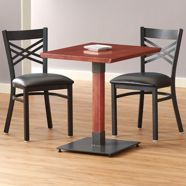 """Lancaster Table & Seating 24"""" X 30"""" Solid Wood Live Edge Intended For Newest Elderton 30'' Solid Wood Dining Tables (View 5 of 15)"""
